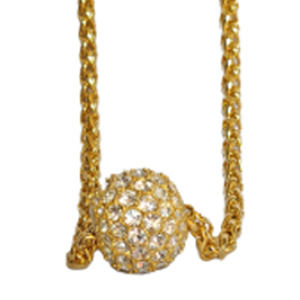 Vintage necklace, Joan Rivers, Crystal Ball